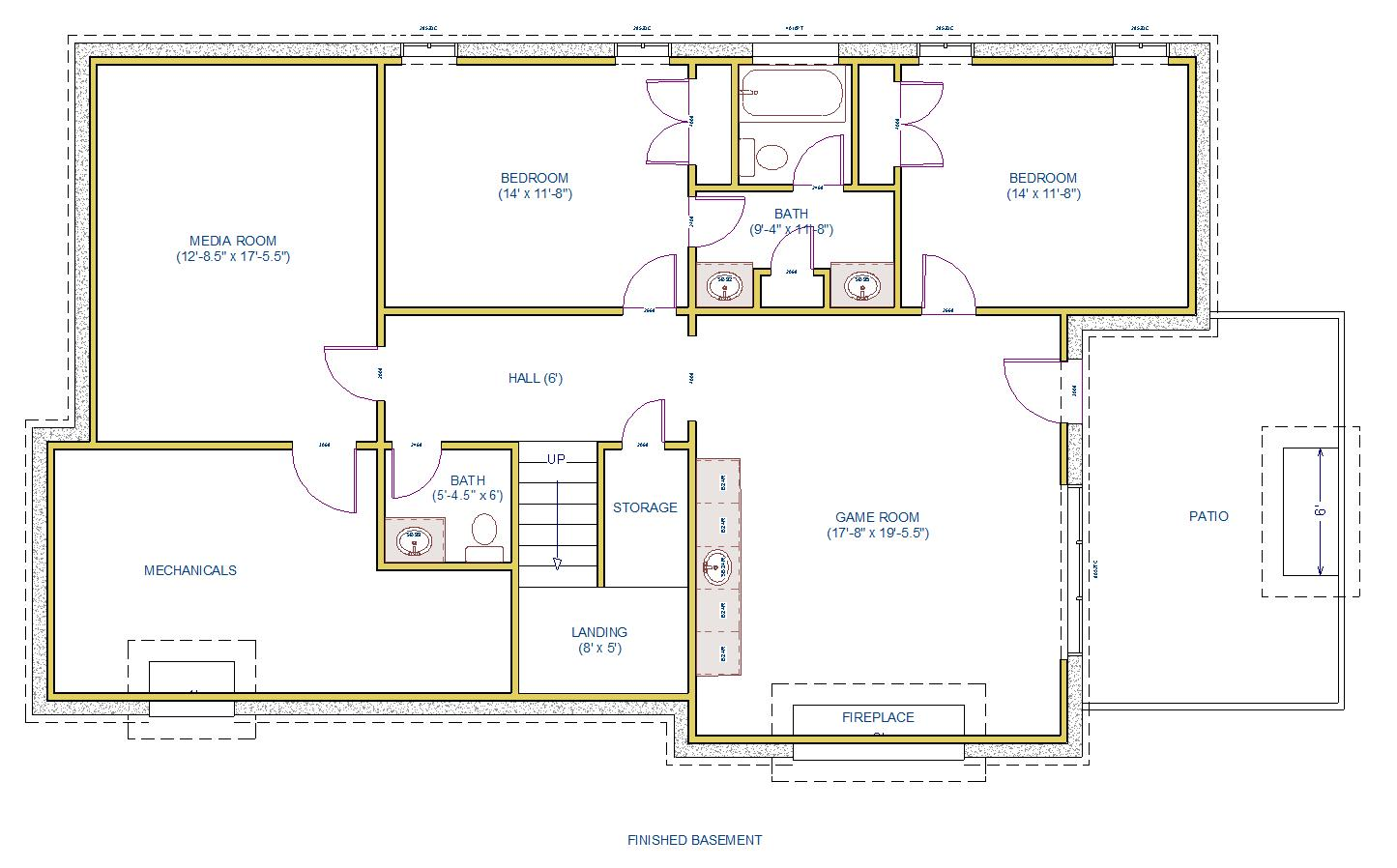 basement layout basement